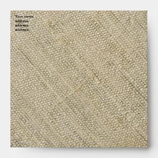 raw silk envelopes