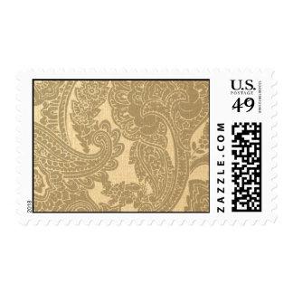 Raw Silk Gold-REG35 Postage Stamp
