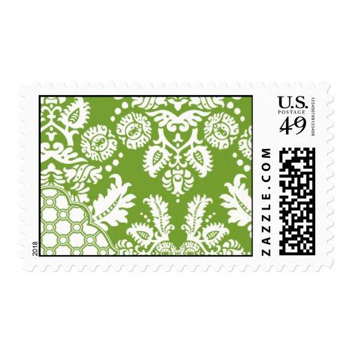 Raw Silk White-BRO83 Postage Stamp