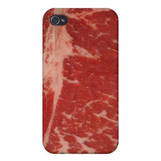 Raw T Bone iPhone 4 Case