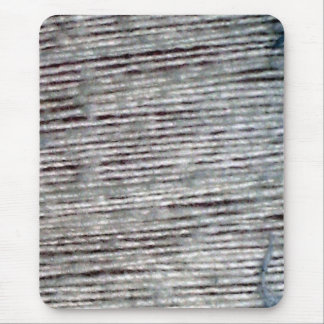 raw threads mouse pad