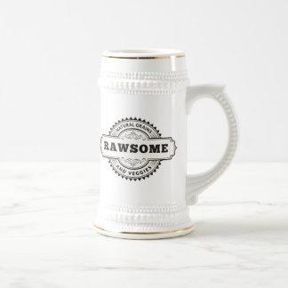 Raw Vegan Vegetarian Rawsome Beer Stein