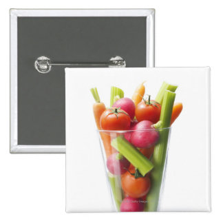 Raw vegetable shake button