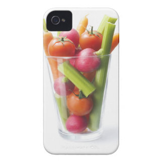 Raw vegetable shake iPhone 4 Case-Mate case