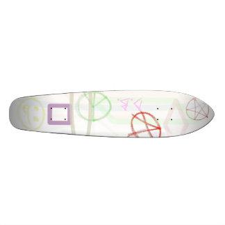 Raw War and Peace Skateboard