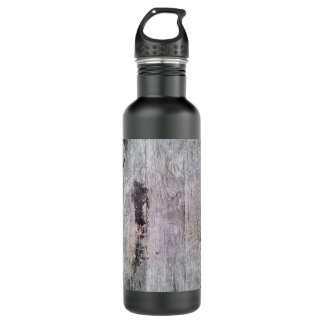 Raw Wood Texture Liberty Bottle