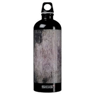 Raw Wood texture Water Bottle