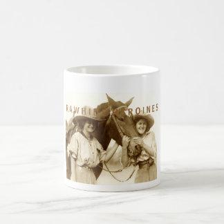 Rawhide Heroines Classic White Coffee Mug
