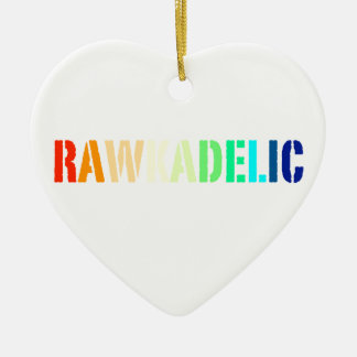 Rawkadelic Ceramic Ornament