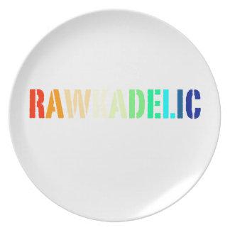 Rawkadelic Dinner Plate