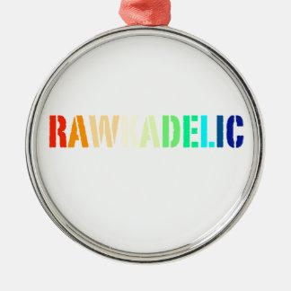 Rawkadelic Metal Ornament
