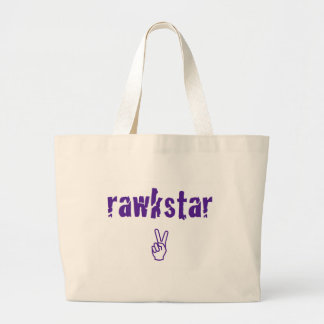 RawkStar Bolsa Tela Grande