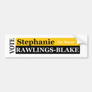 Rawlings-Blake Bumper Sticker