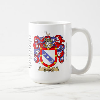 Rawls, the Origin, the Meaning and the Crest Coffee Mug