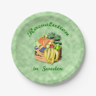 RAWOLUTION english 7 Inch Paper Plate
