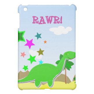 Rawr Cartoon Dinosaur iPad Case