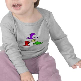 Rawr! Cute Dinosaurs Chibi Babies Dinos Tshirts