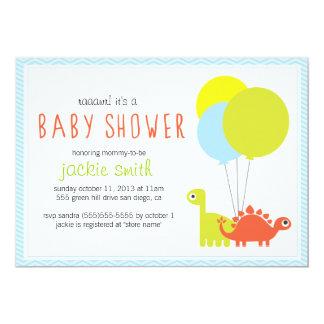 Rawr! Dino Baby Shower Invite Invitation