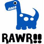 Rawr Dino Blue Cut Outs