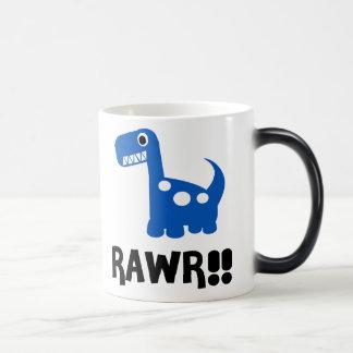 Rawr Dino Blue Magic Mug