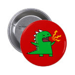 RAWR Dino - customizable! 2 Inch Round Button