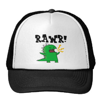 RAWR Dino - customizable! Mesh Hats