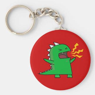 RAWR Dino - customizable! Keychain