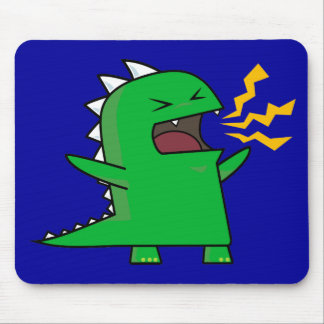 RAWR Dino - customizable! Mousepads