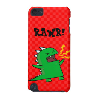 RAWR Dino - customizable! (small) iPod Touch (5th Generation) Cover