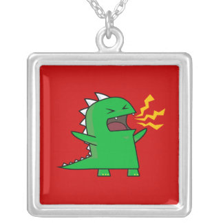 ¡RAWR Dino - personalizable! Pendiente