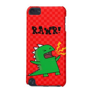 ¡RAWR Dino - personalizable! (pequeño) Funda Para iPod Touch 5G