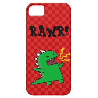 ¡RAWR Dino - personalizable! (pequeño) iPhone 5 Funda