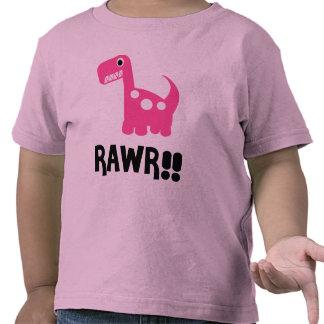 Rawr Dino Pink T-shirt