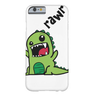 Rawr Dinosaur Barely There iPhone 6 Case