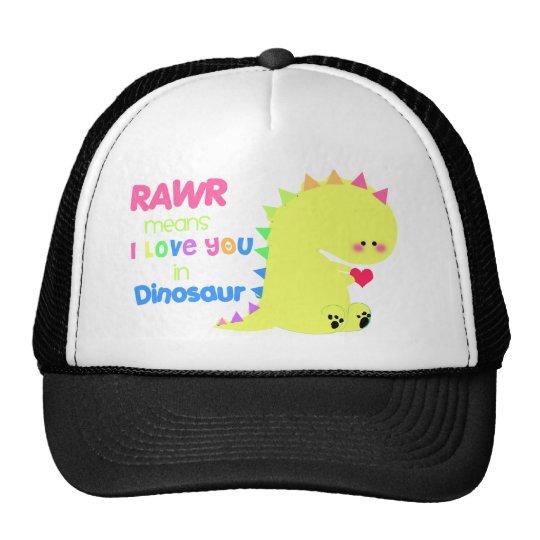 RAWR dinosaur cute Hat