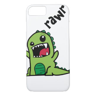 Rawr Dinosaur iPhone 8/7 Case