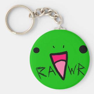 rawr dinosaur keychain