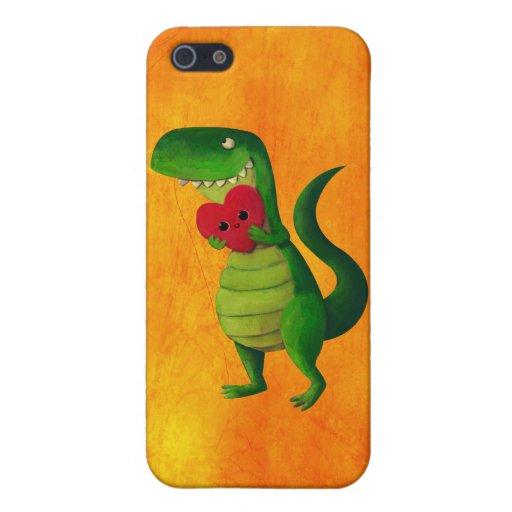 RAWR Dinosaur Love Case For iPhone 5