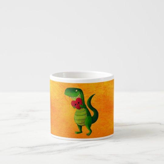 RAWR Dinosaur Love Espresso Cup
