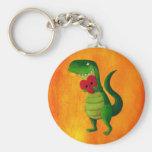 RAWR Dinosaur Love Key Chains