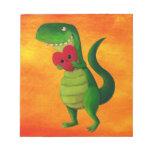 RAWR Dinosaur Love Scratch Pads