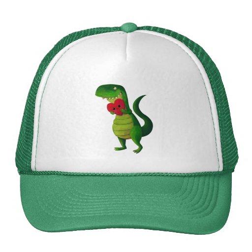 RAWR Dinosaur Love Trucker Hat