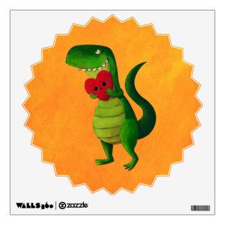 RAWR Dinosaur Love Wall Sticker