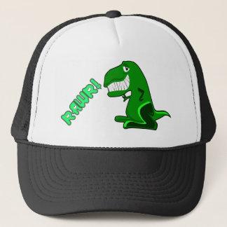 RAWR DINOSAUR TRUCKER HAT