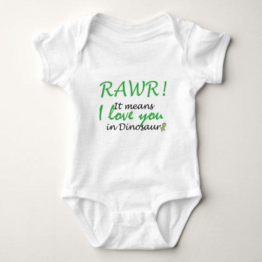 Rawr - I love you Tshirt