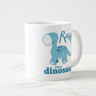 RAWR I'm a Dinosaur Diplodocus Jumbo Mug