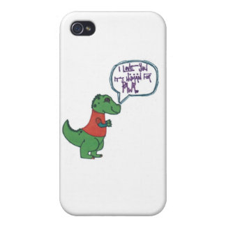 Rawr in Human iPhone 4 Cases