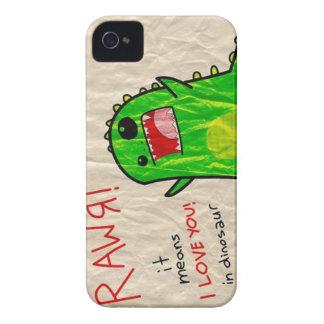 rawr it means i love you iPhone 4 Case-Mate case
