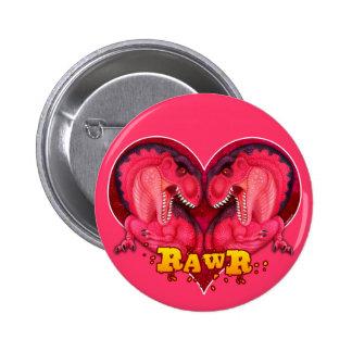 Rawr Love-a-saurus Pinback Buttons