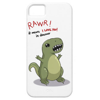 Rawr means I love you in dinosaur :) iPhone 5 Case